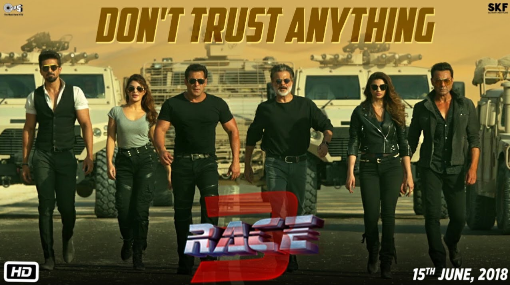 race 3 movie release date