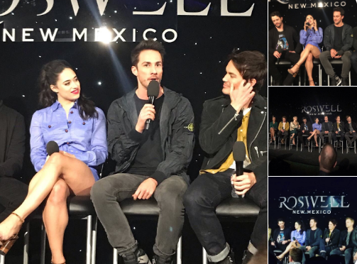 Jeanine Mason, Heather Hemmens, William Greely are the main cast of Roswell, New Mexico