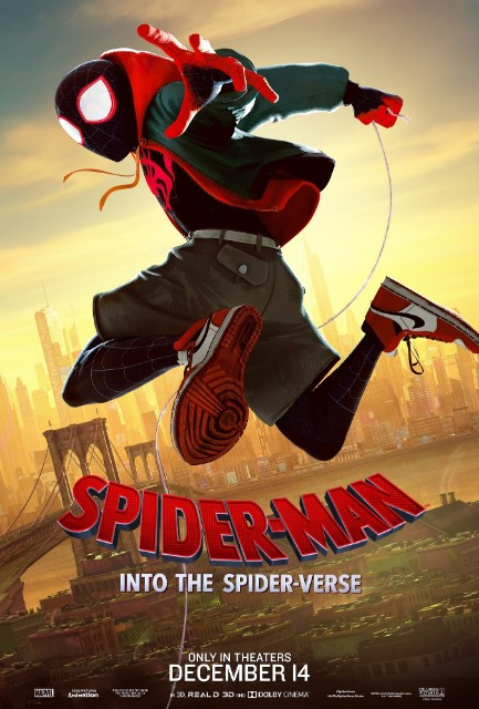 Spider-Man: Into the Spider-Verse 2018 Poster