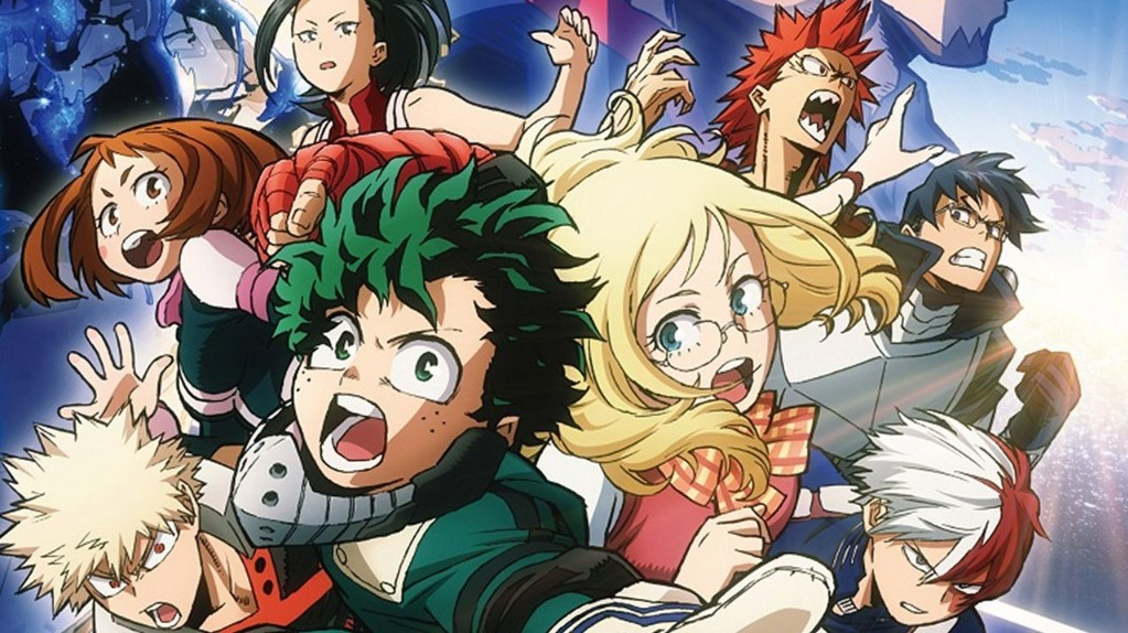 My Hero Academia Two Heroes Cast Release Date Story Budget Box Office