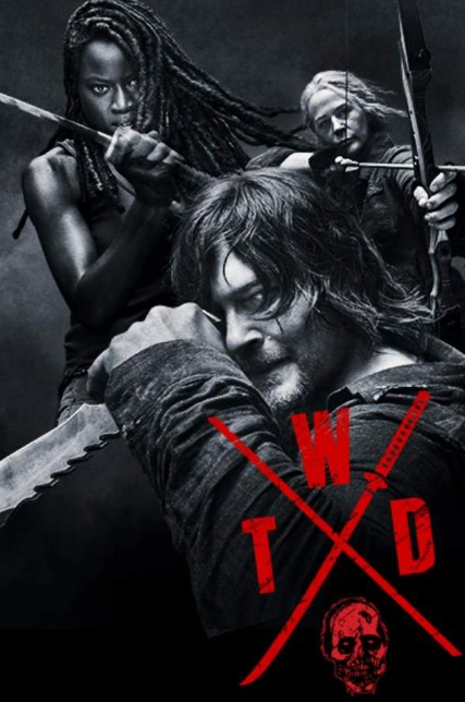 Talking Dead Season 10 Poster