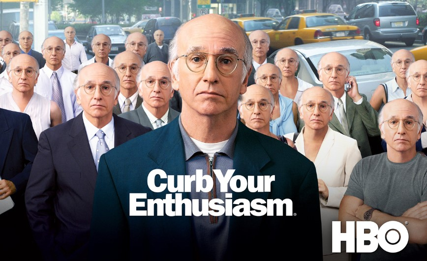 Larry David stars as Larry David, living the good life out in Los Angeles and stumbling through one faux-pas after another. Curb Your Enthusiasm returns for its tenth season Sunday, January 19 at 10:30PM.