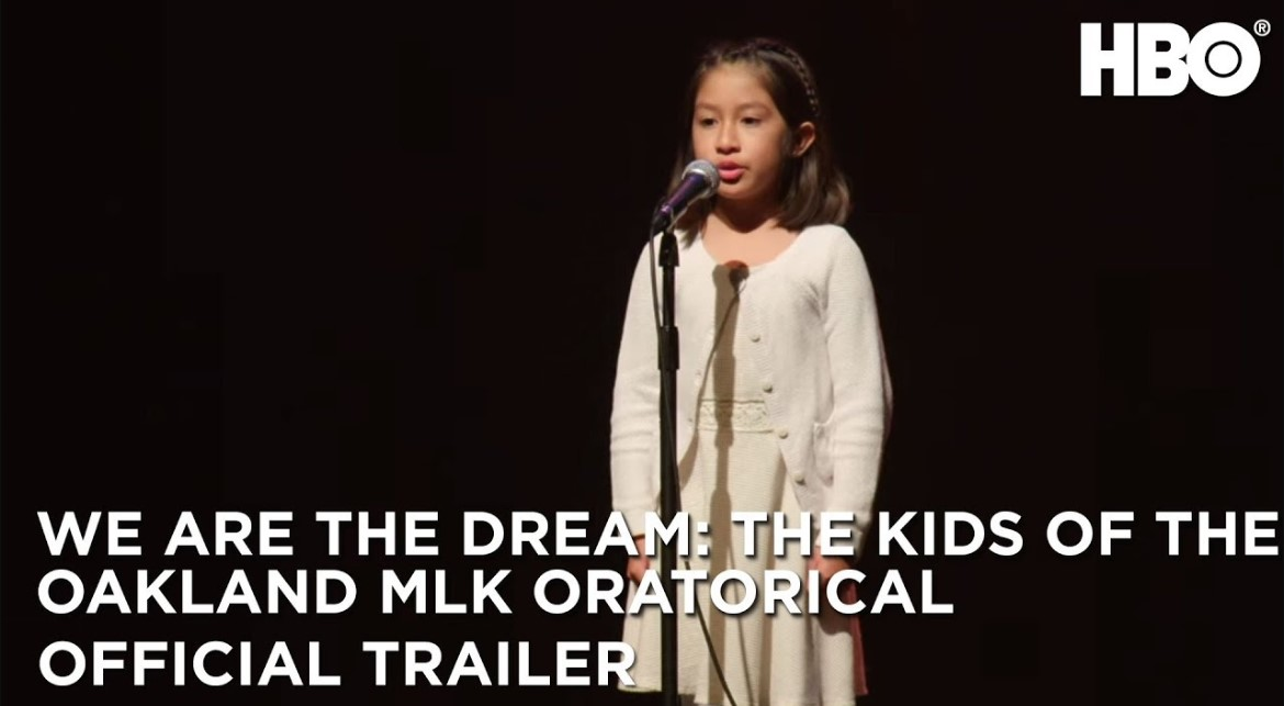Every year in Oakland, CA, hundreds of pre-K through 12th grade students compete in the Martin Luther King Oratorical Festival, performing a mix of published and original poetry and speeches.